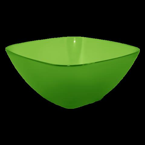 Салатница 1 л зелёная Алеана 168002