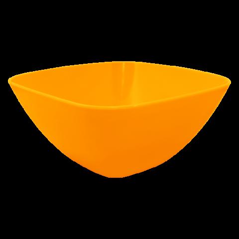 Салатница 1 л оранжевая Алеана 168002