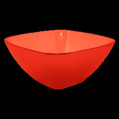 Салатница 0,3 л красная Алеана 168001