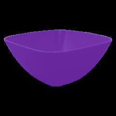 Салатница 0,3 л фиолетовая Алеана 168001