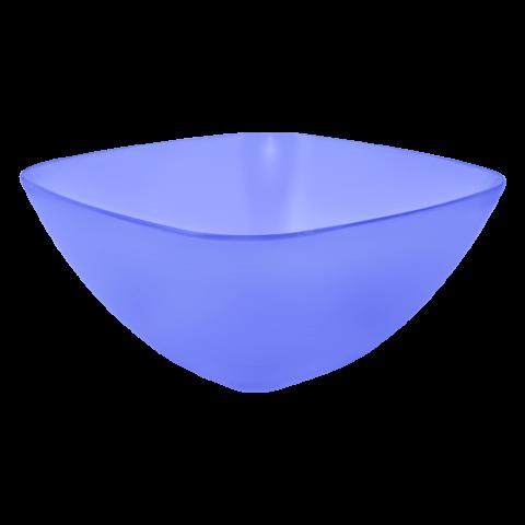 Салатница 2,5 л голубая Алеана 168003