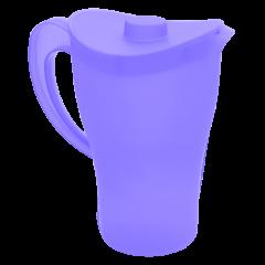 Кувшин с крышкой 0,5 л синий Алеана 168033