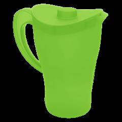 Кувшин с крышкой 0,5 л зелёный Алеана 168033