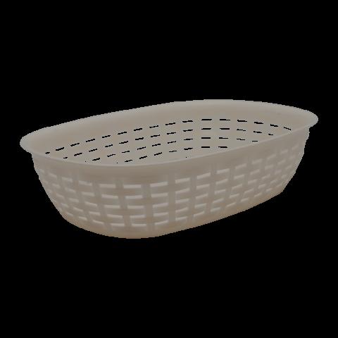 Корзинка Ротанг 29,5х22х7,5 см кремовая Алеана 168081