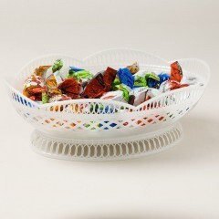 Сухарница белая Ал-Пластик 349