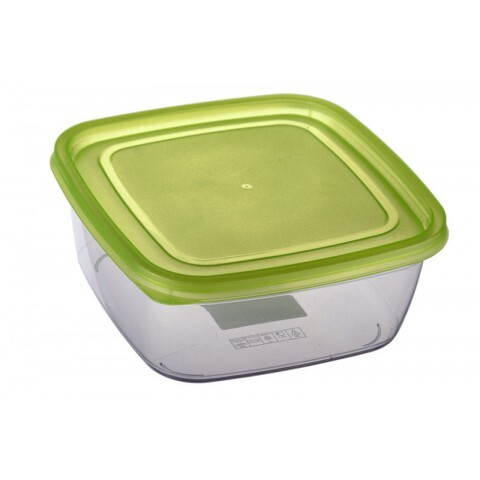 Контейнер ECONOM BOX квадратный 1,5 л Ал-Пластик