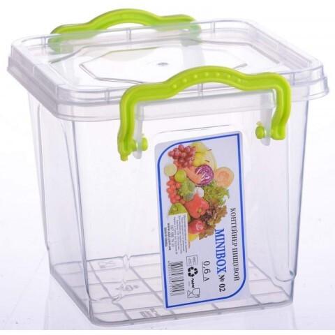 Контейнер Minilux №4 (0.6 л), Ал-Пластик, Арт.: 14