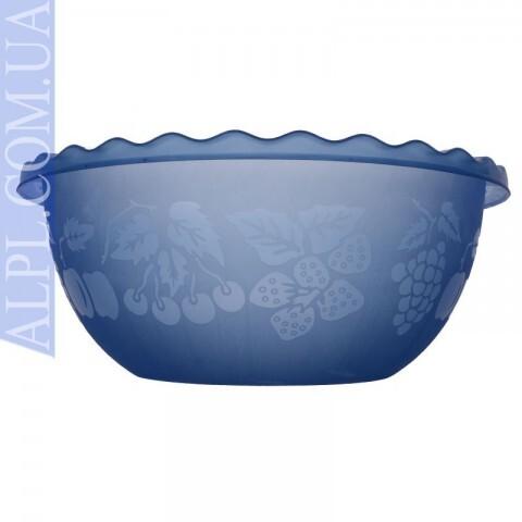 Таз для фруктов 6 л Фиолетовый, Ал-Пластик, Арт.: 367