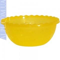 Таз для фруктов 9 л Желтый Ал-Пластик 383