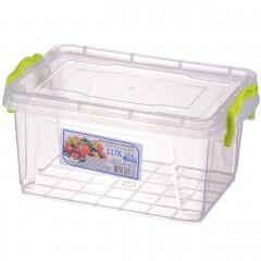 Контейнер пищевой Lux №4 (1.5 л), Ал-Пластик, Арт.: 37