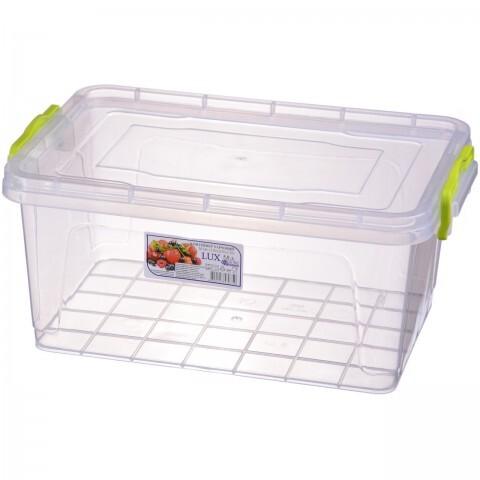 Контейнер пищевой Lux №6 (5 л), Ал-Пластик, Арт.: 39