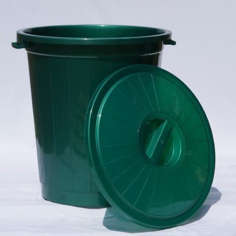 Бак 70 л зелёный Ал-Пластик 68