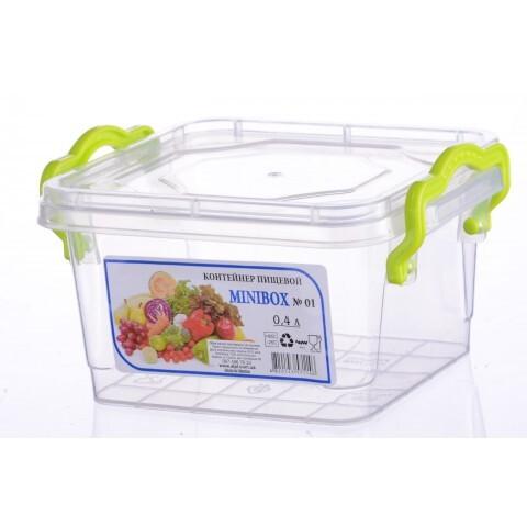 Контейнер Minilux №2 (0.4 л), Ал-Пластик, Арт.: 12